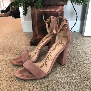 Sam Edelman dusty rose heels 8